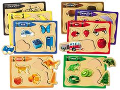 Learning Colors Picture Puzzles