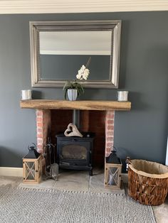 Down pipe Farrow and Ball living room Farrow And Ball Living Room, Living Room Paint, Home Living Room, Wall Colours, Paint Colours, Open Plan Kitchen Dining Living, Lounge Decor, Paint Ideas, Kitchen Interior