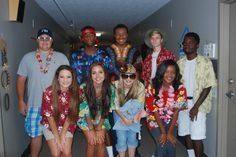 Tacky Tourist Day / Homecoming Spirit Week 2015