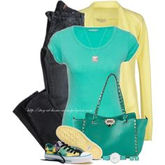 """Farb-und Stilberatung mit www.farben-reich.com - """"'Spray Paint' Chucks"""" by stay-at-home-mom on Polyvore"""