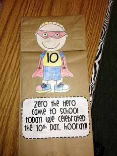 Counting by 10s, counting the days of school.