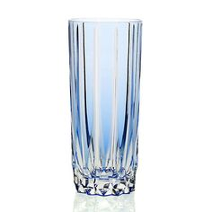 William Yeoward, Crystal Vita Highball Tumbler, Blue (avail. in Rose, Green, and Amethyst), $235 via Gump's
