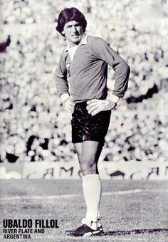 Ubaldo Filliol of Argentina in 1977.