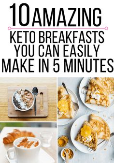 11 Amazing Quick & Easy 5-Minute Keto Breakfast Ideas - Olivia Wyles