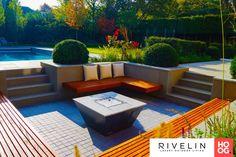 Small Courtyard Gardens, Small Courtyards, Backyard, Patio, Outdoor Furniture Sets, Outdoor Decor, Garden Inspiration, Ideas Para, Garden Design