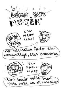 comosermujer - Monstruo Espagueti