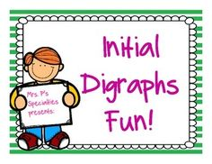 Fun and engaging way to work on digraphs! $2.50