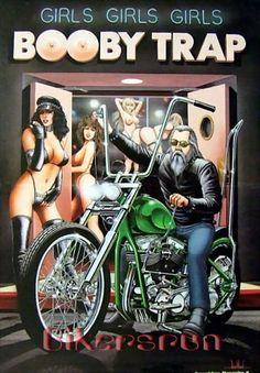 Risultati immagini per David Mann art Motorcycle Art, Bike Art, Motorcycle Humor, Motorcycle Girls, Art Mann, David Mann Art, Harley Davidson Art, Pin Up, Biker Quotes