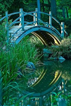 Moon Bridge, Batavia, Illinois.