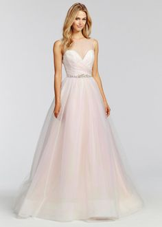 Style 1659 Harmony | Blush by Hayley Paige Fall 2016
