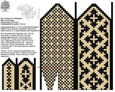 Amy Bedell's media statistics and analytics Knitted Mittens Pattern, Fair Isle Knitting Patterns, Knitting Charts, Knit Mittens, Knitted Gloves, Lace Knitting, Knitting Stitches, Knitting Designs, Knitting Projects