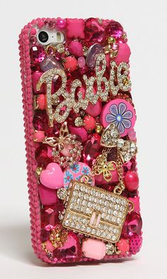 Barbie and Purse 3D Design (Style #781) | Wants your iPhone bling case within 24 hrs? See our designs and order us now > http://luxaddiction.com
