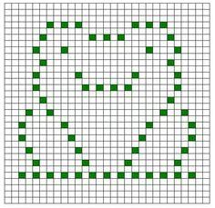 Frog granny square