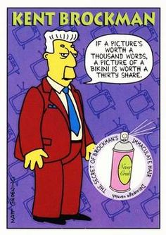 1993 SkyBox The Simpsons #S7 Kent Brockman | Trading Card Database Kent Brockman, Tv Funny, Watch Cartoons, Dysfunctional Family, Collector Cards, Trading Card Database, Enough Is Enough, Trivia, Growing Up