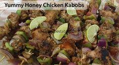 Yummy Honey Chicken Kabobs Recipe - Recipes Table