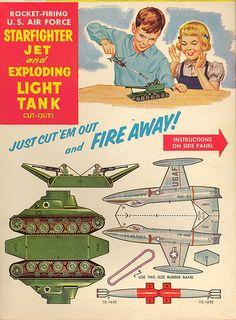 Cheerios Starfighter Jet  Tank Box by Neato Coolville, via Flickr