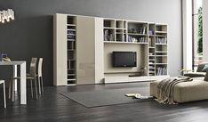 Een overzicht van de Nuvola boekenkasten op maat voorbeelden.