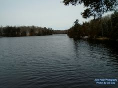 Winter Up On the Neck of the Duck on Duck Lake Orrville Ontario