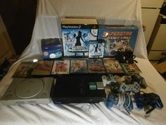 SONY Playstation 2 & 1: Family bundle 140+ Games Plus S&H deal -READ