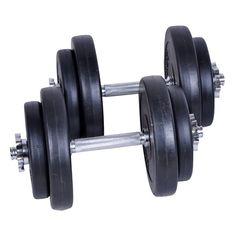Grote spieren kweken met deze halters gekocht bij de kijkshop