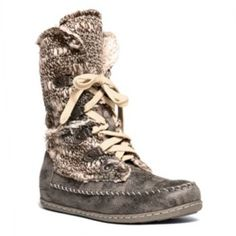 MUK LUKS Lily Women's Lace-up Midcalf Boots