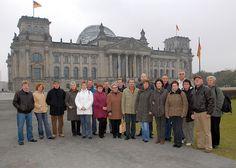 26. Oktober 2007: Die Schützengesellschaft von 1305 Heiligenstadt zu Besuch in Berlin unter Leitung von Vorsitzendem Reiner Hartung.