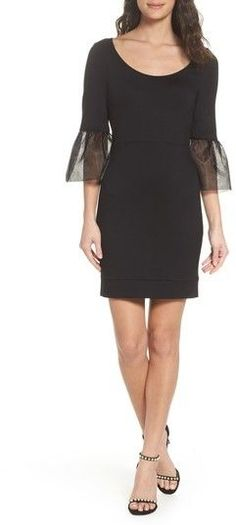 French Connection Women's Lula Bell Sleeve Body-Con Dress