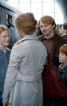 Rose, Hermione, Ron and Hugo