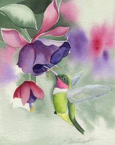 Hummingbird ~ Amy Hautman