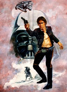 Star Wars - Han Solo by Sanjulian | Manuel Pérez Clemente *