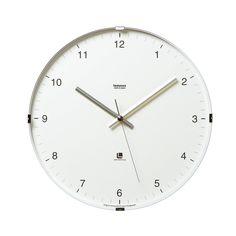 Amazon.co.jp: Lemnos North clock ホワイト T1-0117 WH: ホーム&キッチン