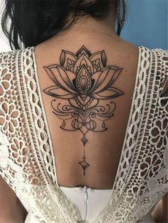 Henna Tattoo Designs, Henna Tattoos, Lotusblume Tattoo, Ribbon Tattoos, Feather Tattoos, Tattoo Fonts, Sexy Tattoos, Body Art Tattoos, Flower Tattoos