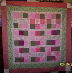 pink-nine-patch-baby-quilt