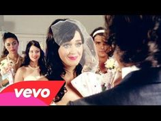 Katy Perry - Hot N Cold  I think the shorts under the wedding dress is a cute idea.