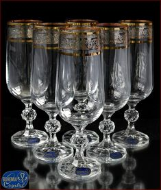 In our assortment there are glasses for brandy and cognac from crystal on 350 ml, and from Bohemian glass on 400 m of various color shades (blue, red, white, green). These wine glasses have an expanded shape in the middle and a narrowed neck. Bohemia Crystal, Bohemia Glass, Tea Glasses, Champagne Glasses, Table Setting Etiquette, Crystal Champagne, Crystal Glassware, Bathroom Accessories Sets, Mason Jar Wine Glass
