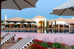 """Pine Cliffs Resort Albufeira, Algarve   is considered one of Europe's top hotels for families by The Times UK, March 30, 2013  The 369 room-and-suite resort is an action-packed retreat. The safe shallow beach, beach club, spa & 5 pools are the attraction, as is the 7,000sq m kids club &  creche that includes a """"children's village"""" with mini golf, basketball, volleyball and bouncy castles."""