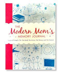 Modern Mom's Memory Journal #zulily #zulilyfinds