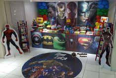 Super Heròis #vingadores #superheroes #ligadajustiça #painelsublimado