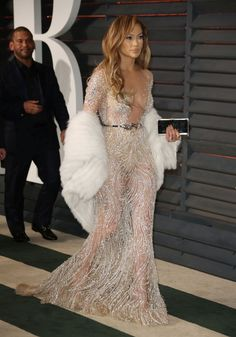 Proof That No One Rocks a See-Through Dress Quite Like J.Lo