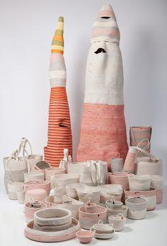 inspiration / Baskets by Doug Johnston via Little Helsinki