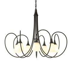Off Picoh Dark Smoke Seven Light 37 Inch Chandelier with Opal Glass by Hubbardton Forge. @ Chandelier with seven arms and glass options. @ 15 Inches of wire included @ 3 Inches of chain included @ Bulb(s) not included @ Sloped ceiling adaptable Rectangle Chandelier, Large Chandeliers, Mini Chandelier, Chandelier Shades, Chandelier Lighting, Kitchen Chandelier, Classic Lighting, Dark Smoke, Shop Lighting