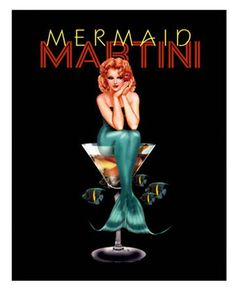 Mermaid Martini