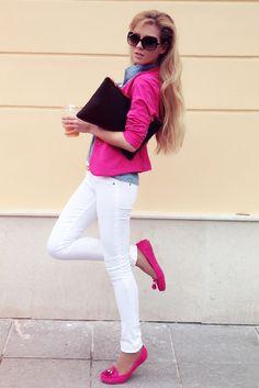 I want a pink blazer !!