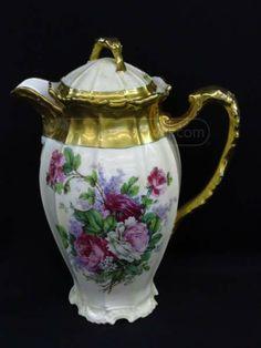 Limoges China Porcelain Coffee or Tea Pot