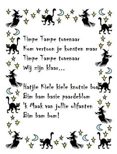 Thema heksen: *▶ LIEDJE: Timpe tampe tovenaar Halloween 2016, Halloween Kids, Halloween Themes, Happy Halloween, Halloween Party, School Projects, Projects For Kids, Fairy Tale Crafts, Wicked Witch