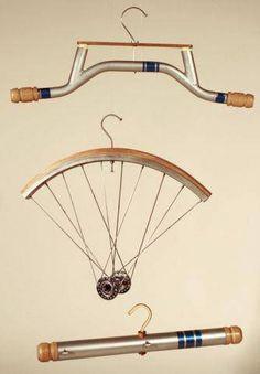 perchas y bicicletas