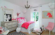Sally Wheat, pink girl's room