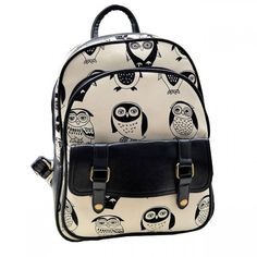 Cool! Mini Leisure Cartoon Owl College Backpack just $30 from ByGoods.com! I can't wait to get it!
