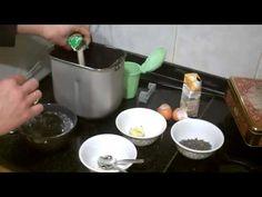 BIZCOCHO de naranja y nueces (panificadora) ♡Ingredientes: 1 naranja de zumo 3 huevos enteros 250 gr azúc...
