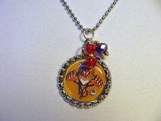 NHL Florida Panthers Hockey Necklace by Sports Jewelry Studio on Etsy. $10.00. etsy.com/shop/sportsjewelrystudio